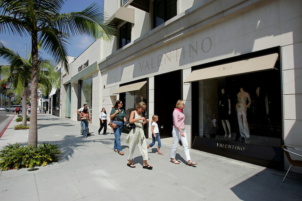 US-LOS ANGELES:  Rodeo Drive Beverly Hills .PHOTO: GERRIT DE HEUS