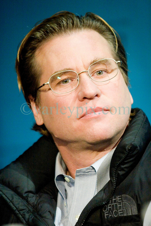 02 Feb, 2006. New Orleans, Louisiana. <br /> The cast and directors of the movie Deja Vu give a press conference at the House of Blues in New Orleans, Louisiana. Actor Val Kilmer.<br /> Photo; Charlie Varley/varleypix.com