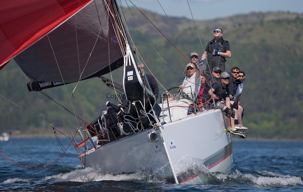 Silvers Marine Scottish Series 2017<br /> Tarbert Loch Fyne - Sailing<br /> <br /> FRA35439, Inis Mhor, M Findlay, CCC, Ker 39