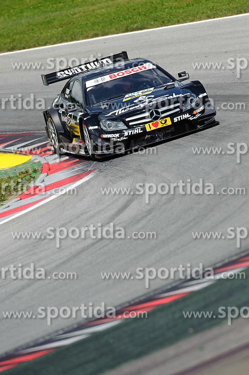 03.06.2012, Red Bull Ring, Spielberg, AUT, DTM Red Bull Ring, Qualifying, im Bild Gary Paffett, (GBR, HWA) // during the DTM training day on the Red Bull Circuit in Spielberg, 2012/06/02, EXPA Pictures © 2012, PhotoCredit: EXPA/ S. Zangrando