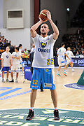 DESCRIZIONE : Campionato 2014/15 Dinamo Banco di Sardegna Sassari - Vanoli Cremona<br /> GIOCATORE : Marco Cusin<br /> CATEGORIA : Before<br /> SQUADRA : Vanoli Cremona<br /> EVENTO : LegaBasket Serie A Beko 2014/2015<br /> GARA : Banco di Sardegna Sassari - Vanoli Cremona<br /> DATA : 10/01/2015<br /> SPORT : Pallacanestro <br /> AUTORE : Agenzia Ciamillo-Castoria / Claudio Atzori<br /> Galleria : LegaBasket Serie A Beko 2014/2015<br /> Fotonotizia : DESCRIZIONE : Campionato 2014/15 Dinamo Banco di Sardegna Sassari - Vanoli Cremona<br /> <br /> Predefinita :