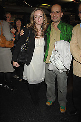 LUCY YEOMANS and MARK QUINN at a party to celebrate the launch of Holly Peterson's debut novel 'The manny' held at Selfridges, Oxford Street, London on 26th February 2007.<br /><br />NON EXCLUSIVE - WORLD RIGHTS
