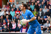 Alex McCarthy (1) of Southampton during the Premier League match between Southampton and Chelsea at the St Mary's Stadium, Southampton, England on 7 October 2018.