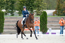 Voets Sanne, (NED), Vedet PB NOP<br /> Grade III Team Test<br /> Para-Dressage FEI European Championships Deauville 2015<br /> © Hippo Foto - Jon Stroud<br /> 18/09/15