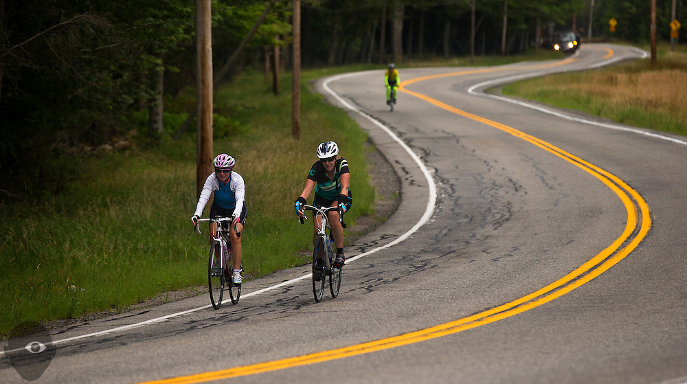 Day 1 riding from Saranac Lake to Star Lake on Sunday, August 23, 2015.