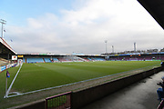 Scunthorpe United ground Glanford Park before the EFL Sky Bet League 1 match between Scunthorpe United and Southend United at Glanford Park, Scunthorpe, England on 23 December 2017. Photo by Ian Lyall.