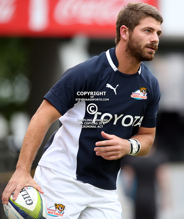 DURBAN, SOUTH AFRICA - FEBRUARY 14: Willie le Roux of the Cheetahs during the Super Rugby match between Cell C Sharks and Toyota Cheetahs at Growthpoint Kings Park on February 14, 2015 in Durban, South Africa. (Photo by Steve Haag/Gallo Images)