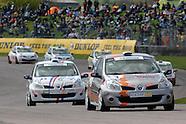 ELF Renault Clio Cup. Thruxton, Rds 3 & 4 2009