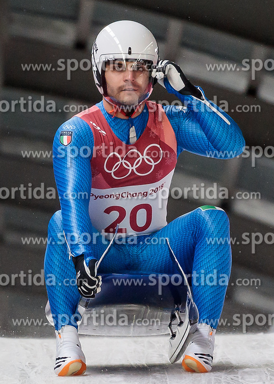 11.02.2018, Olympic Sliding Centre, Pyeongchang, KOR, PyeongChang 2018, Rodeln, Herren, 3. Lauf, im Bild Emanuel Rieder (ITA) // Emanuel Rieder of Italy during the Men's Luge Singles Run 3 competition at the Olympic Sliding Centre in Pyeongchang, South Korea on 2018/02/11. EXPA Pictures © 2018, PhotoCredit: EXPA/ Johann Groder