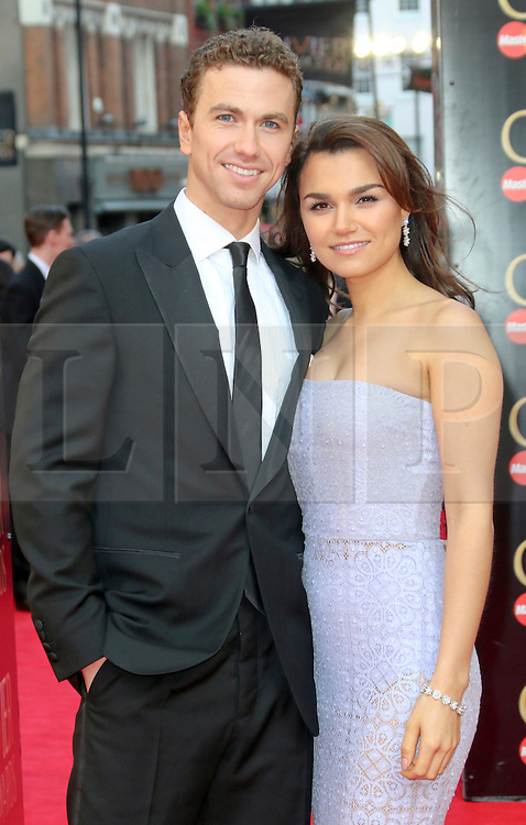 © Licensed to London News Pictures. 13/04/2014, UK. Samantha Barks, The Laurence Olivier Awards, Royal Opera House, London UK, 13 April 2014. Photo credit : Richard Goldschmidt/Piqtured/LNP