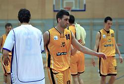 Drazen Bubnic at 12th Round of UPC League basketball match between KK Luka Koper and KK Zlatorog Lasko, on May 2, 2009, in Arena Bonifika, Koper, Slovenia. Zlatorog won the match 72:71. (Photo by Vid Ponikvar / Sportida)