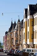 Eira, Ullanlinna. Art deco houses.