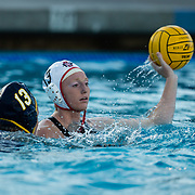 20 April 2018: The San Diego State women's waterpolo team took on UC San Diego for the Harper Cup and lost 6-5 at the Canyonvie Aquatic Center. More game action at sdsuaztecphotos.com