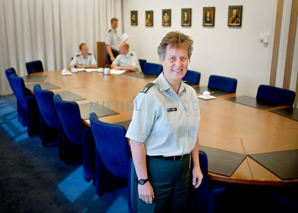 Generaal Leanne van der Hoek in Utrecht, The Netherlands on August  13, 2008. (photo by Michel de Groot)
