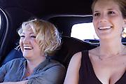 Limo ride; Maja and Rob's wedding. ..