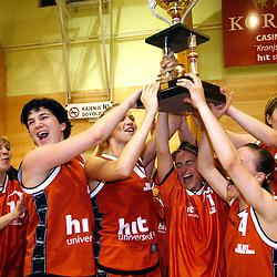 20070515: Basketball - Women, Hit Kranjska Gora vs ZKK Merkur Celje