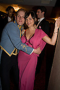 CAPT. JAMES BEATTIE AND VESTALIA CHILTON, The Royal Caledonian Ball 2008. In aid of the Royal Caledonian Ball Trust. Grosvenor House. London. 2 May 2008.  *** Local Caption *** -DO NOT ARCHIVE-© Copyright Photograph by Dafydd Jones. 248 Clapham Rd. London SW9 0PZ. Tel 0207 820 0771. www.dafjones.com.