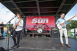 The Medicine Priests open The Sun Break Out stage. Saturday at Party at the Palace 2017, Linlithgow.
