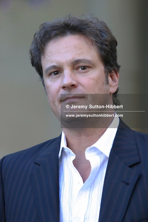 """Colin Firth, actor, at Edinburgh Film festival, with his new film """"Trauma""""..( 9 pictures, non-exclusive)"""