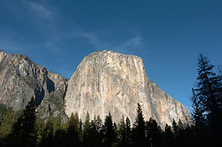 Nov 22, 2008 - Yosemite National Park, CA, UNITED STATES - El Capitan is a favorite for experienced rock climbers. Rising more than 3,000 feet above the Valley floor, it is the largest monolith of granite in the world. El Capitan is opposite Bridalveil Fall and is best seen at the far west end of Yosemite Valley at Bridalveil and El Capitan Meadows. (Credit Image: © Alan Greth/ZUMA Press)