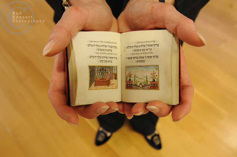 Manhattan, New York: Tue, Feb 10, 2009: Sotheby's, 1334 York Ave, New York, NY: The Valmadonna Trust is the finest private library of Hebrew books and manuscripts in the world. Consisting of over 13,000 printed books and manuscripts, the library is monumental in its significance as a primary source on both world history and Jewish life and culture.  The collection boasts rarities dating from the 10th century to the early 20th century from Italy, Holland, England, Greece, Easter Europe, the Ottoman Empire, Poland, North Africa, India, and China, documenting the spread of the Hebrew press and the dissemination of Jewish culture around the globe. .---.Rob Bennett for The New York Times