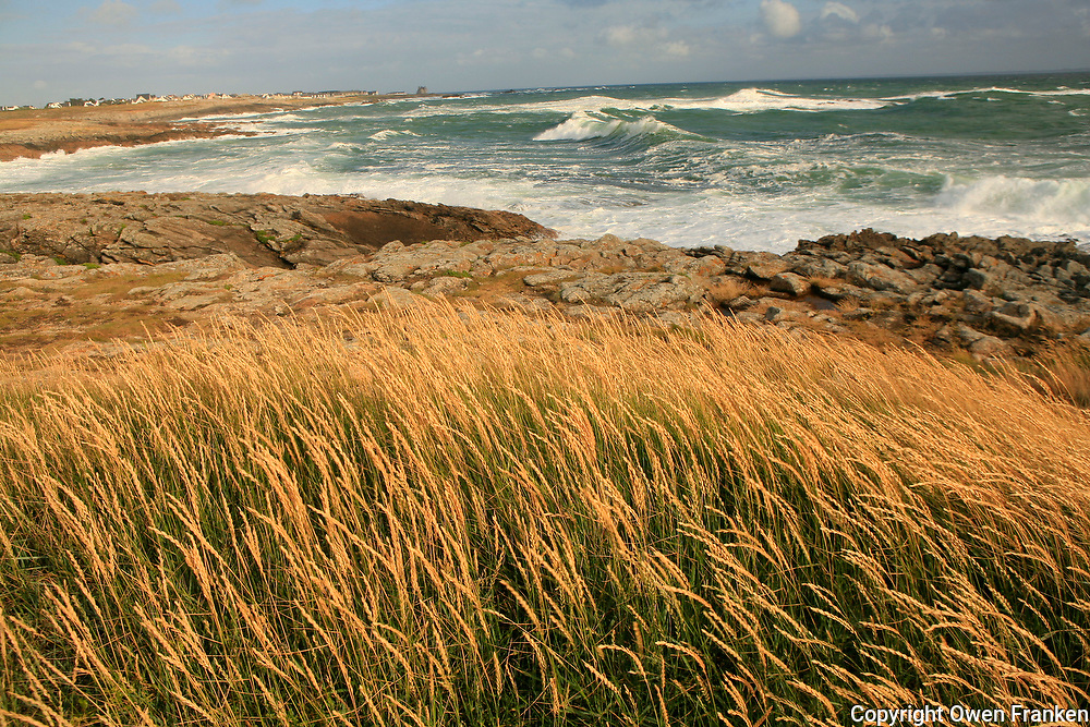 Cote Sauvage near Quiberon, Brittany...photograph by Owen Franken for the NY Times..July 7, 2008..