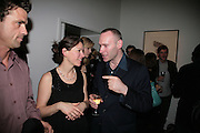 PATRICIO FORRESTER, RHIANNA LANG AND WOLFE LENKIEWICZ, Joe la Placa in collaboration with Dickinson presents WOLFE LENKIEWICZ nu-trinity Private View October 9, 2007-DO NOT ARCHIVE-© Copyright Photograph by Dafydd Jones. 248 Clapham Rd. London SW9 0PZ. Tel 0207 820 0771. www.dafjones.com.