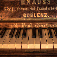 Hotel S in the Black Forest old piano