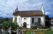 The Dutch Church in Galle Fort...The Fort in Galle is a  World Heritage Site...
