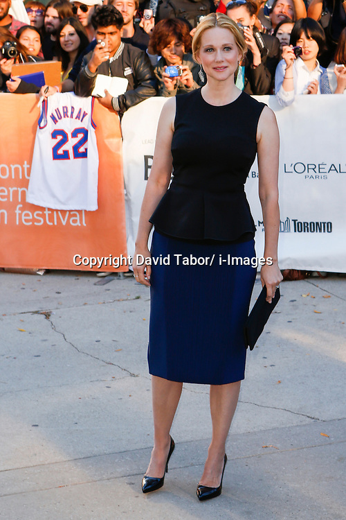 Actress LAURA LINNEY at the 'Hyde Park On Hudson' premiere during the 2012 Toronto International Film Festival at Roy Thomson Hall, September 10th. Photo by David Tabor/ i-Images.
