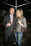 LOUIS GREIG AND EVELINA PERNICHEVA, Tatler Summer party. Home House. Portman Sq. London. 27 June 2007.  -DO NOT ARCHIVE-© Copyright Photograph by Dafydd Jones. 248 Clapham Rd. London SW9 0PZ. Tel 0207 820 0771. www.dafjones.com.
