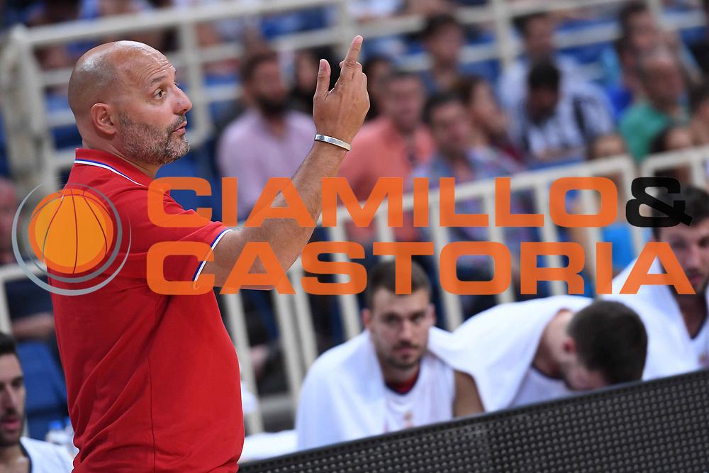 Aleksandar Sasha Djordjevic<br /> Nazionale Italiana Maschile Senior<br /> Torneo dell Acropolis<br /> Italia Serbia Italy Serbia<br /> FIP 2017<br /> Atene, 23/08/2017<br /> Foto Ciamillo - Castoria