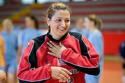Branka Zec at practice of Slovenian Handball Women National Team, on June 3, 2009, in Arena Kodeljevo, Ljubljana, Slovenia. (Photo by Vid Ponikvar / Sportida)