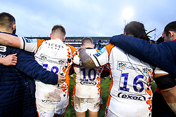 The backs of the one off Worcester Warriors kit for Acorns Charity - Mandatory by-line: Robbie Stephenson/JMP - 15/02/2020 - RUGBY - Sixways Stadium - Worcester, England - Worcester Warriors v Bath Rugby - Gallagher Premiership Rugby