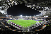 A general view of Hull City KCOM stadium before the EFL Sky Bet Championship match between Hull City and Norwich City at the KCOM Stadium, Kingston upon Hull, England on 27 November 2018.