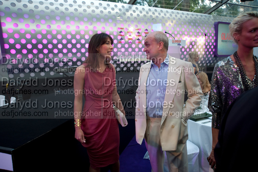 Samantha Cameron; Nicholas Coleridge, Glamour magazine Women of the Year Awards. Berkeley Square. London. 2 June 2009
