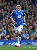 Everton's Gareth Barry during the Barclays Premier League match at Goodison Park, Liverpool.