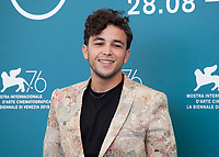 ActorMehdi Hajri at the photocall for the film The Scarecrows (Les Épouvantails) at the 76th Venice Film Festival, on Thursday 29th August 2019, Venice Lido, Italy.