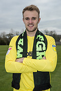 Lewis Ward signs a contract on loan from Reading with Forest Green Rovers at Stanley Park, Chippenham, United Kingdom on 14 January 2019.