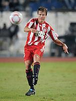 Fussball 1. Bundesliga  Saison   2010/2011   08.01.2011 FC Bayern Muenchen -  Al Wakrah Sport Club Holger Badstuber (FC Bayern Muenchen) am Ball