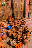 Pottery Square, Bhaktapur, Kathmandu Valley, Nepal.