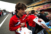 April 10-12, 2015: Chinese Grand Prix - Roberto Merhi (SPA) Manor Marussia F1 Team