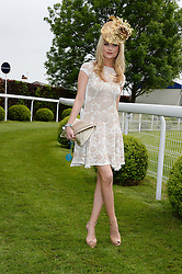 LAURA WHITMORE at the Investec Derby 2013 held at Epsom Racecourse, Epsom, Surrey on 1st June 2013.
