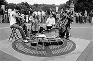 Musicians at Bethesda Terrace in Central Park