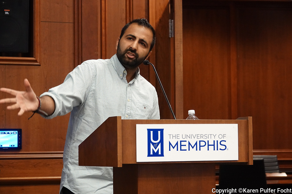 Born to Pakistani Muslim parents, Kasim Hafeez was fully radicalized by the time he was 18 years old. He was so full of hatred for the Jewish people and the Jewish nation that he was on the verge of becoming a suicide bomber to further a cause. Kasim spoke at the University of Memphis to tell his story of how he went from being a hater to being an advocate for the Jewish State.
