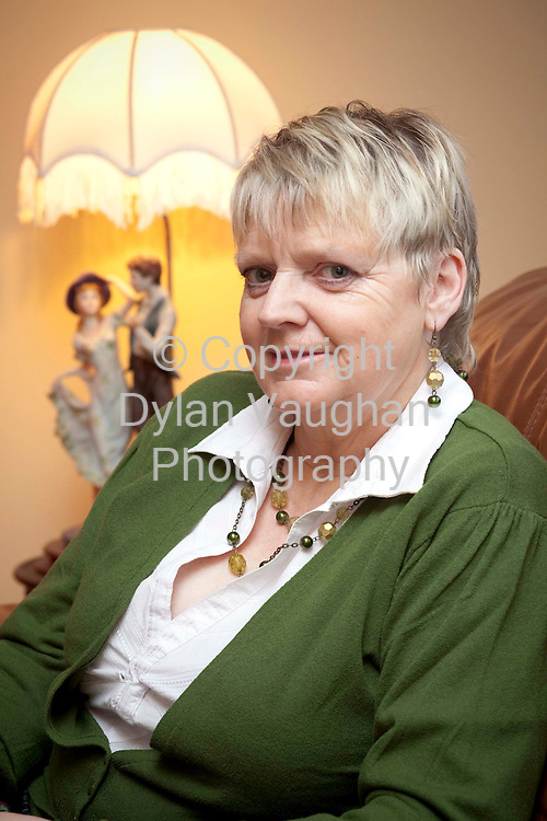 31/1/2009..Margaret Rossiter pictured at her home in Carlow.Picture Dylan Vaughan