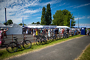 Henley on Thames, England, United Kingdom, 5th July 2019, Henley Royal Regatta, Entrance to the Stewards Enclosure,   [© Peter SPURRIER/Intersport Image]<br /> <br /> 13:55:00 1919 - 2019, Royal Henley Peace Regatta Centenary,