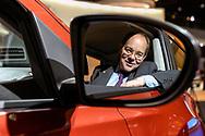 Dominique Thormann, senior vice president at Nissan, during the Paris Mondial de l'Automobile.<br /> Paris, France. 29/09/2006