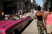 As the Cuban economy opens and tourists flood the streets, Cuba's mostly classless society is starting to show wider gaps between the haves and have-nots. Residents who have grown accustomed to calm streets and tight knit families wonder what the future will hold.
