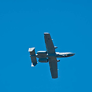 Warhog airplane at Camarillo Airshow 2010. California, USA.